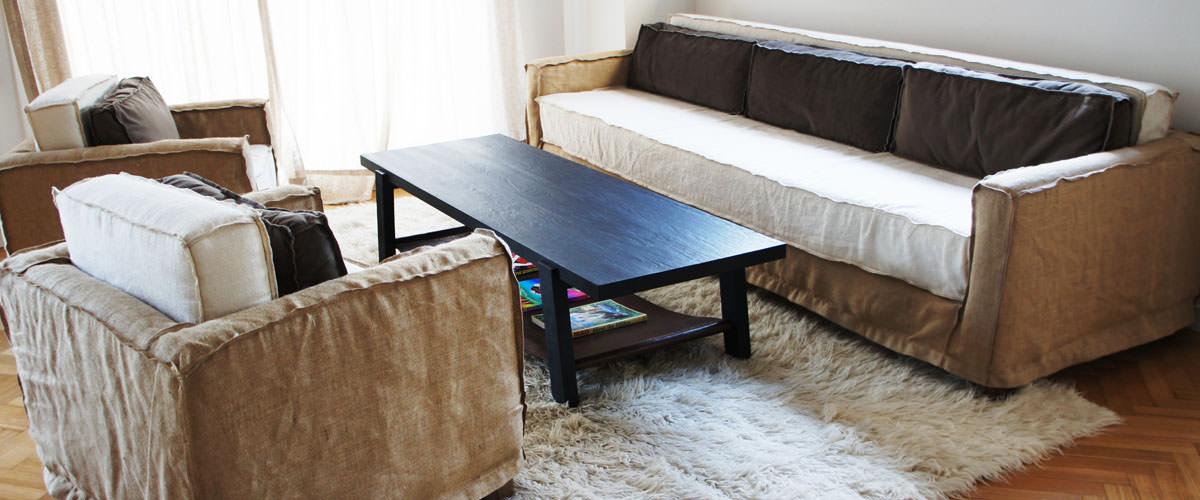 Maria rusconi for Sofas individuales comodos